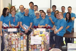 The names.co.uk team supporting Movember & Worcester Foodbank