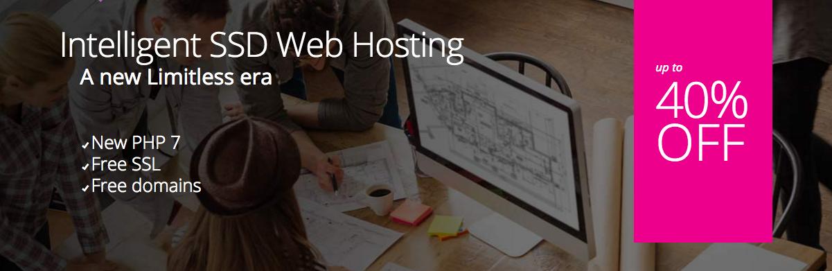 Intelligent SSD Web Hosting