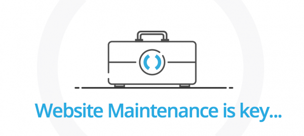 Website Maintenance is key!