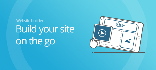 Build your site on the go!