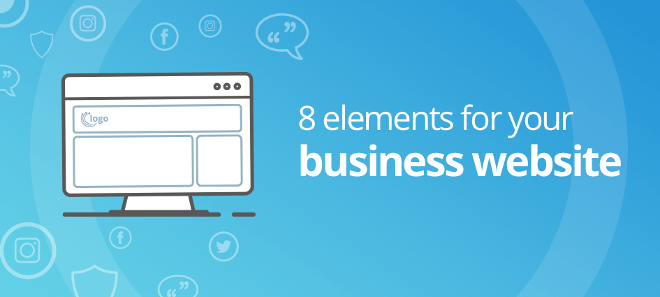 8 elements for your business website