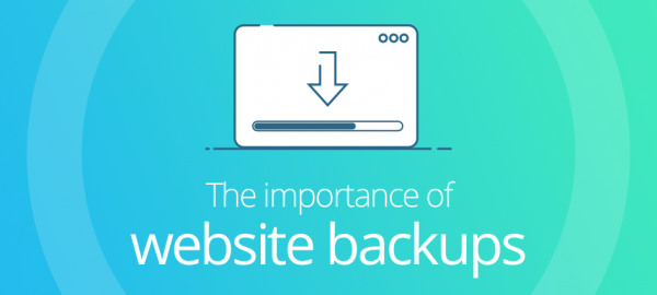 The importance of website backups
